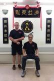 Sigung Anto Abramovic and Grand Master Wan Lam Leung, Hong Kong 2018