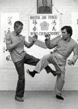 Grandmaster Chu Shong Tin and Sigung Jim Fung
