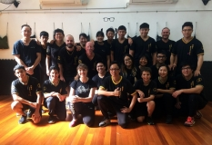 Kasia training at Practical Wing Chun, Brisbane Headquarters, Underwood. Many thanks to Sifu Jack Leung and his fantastic community of skilled and welcoming practitioners.