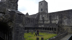 Chi Sao at Sligo Abbey, Sligo, Ireland