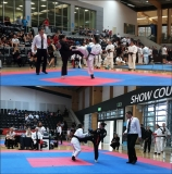 Day 1. Fight 1. CWC Grade 4 vs 2nd dan black belt Kyokushin Karate.