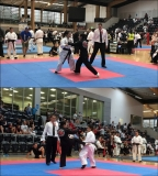 Day 1. Fight 2. CWC Grade 4 vs 2nd dan black belt Kyokushin Karate.