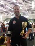 2nd Place Continuous Sparring.   National All Styles - National Championships 2018, Gold Coast