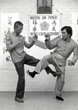 Grandmaster Chu Shong Tin and Sigung Jim Fung
