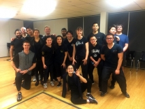 Training with our brothers and sisters at Southport Gold Coast, Practical Wing Chun.